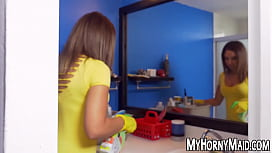 Cute latina housekeeper services...