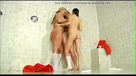 Sexy lesbian threesome in shower of prison ----&gt_ not be shy, come here for free gift www.sweetdreams69.site