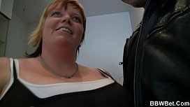 Huge BBW gives head...