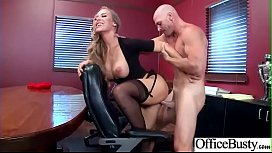 Nicole Aniston Busty Office...