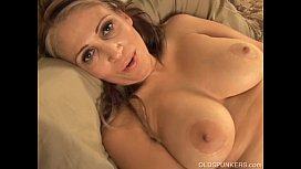 Beautiful busty latina MILF...
