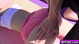 Horny hot Yoga babe...