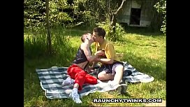 Horny Couple Twinks Get...