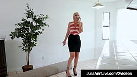 Real Estate Agent Julia Ann Sells House By Sucking Cock!