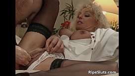 Busty mature whore pisses...