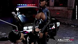 Big tits burglar gets futanari justice system experience in a cool 3d animation