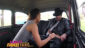 Female Fake Taxi Heist...