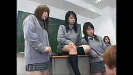 Japanese schoolgirls groupsex 1...