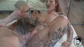 Gorgeous tattooed  milfgetting hard fuck by big euro cock Penny Archer Tommy Wood