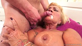 Hairy Granny Pussy Pounded...