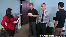 Brazzers - Big Tits at Work - Sauce the Boss scene starring Jenaveve Jolie and Mick Blue