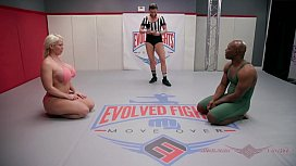 The power of Alura Jenson wrestling Will Tile is impressive