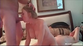 Wicked Granny Hotel 3some...