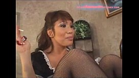 Maid Ava Devine facesitting...