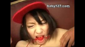 Teen Gagged and played