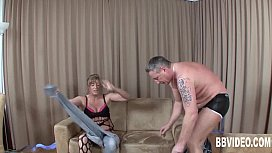 German milf suck cock...