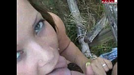 Sweety have fun in the forest