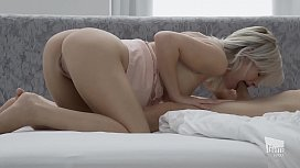 THE WHITE BOXXX - Young Hungarian Zazie Skymm enjoys passionate sex with lover