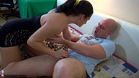OldNanny Old hairy mature...