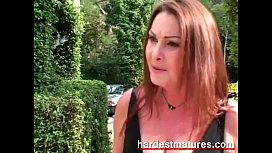 Stacked horny older woman