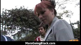 Huge Black Meat Going into Horny Mom 6