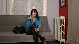 Carla is doing a mature fuck by a false french agent