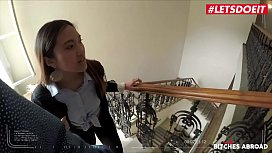 LETSDOEIT - Tiny Asian Teen Seduced And Fucked In Prague (May Thai) xxx porno