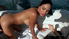Sexy babes in bikinis partying on a boat xvideos preview