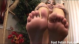 Total findom foot fetish...