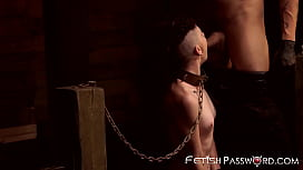 Restrained Lydia Black receives...