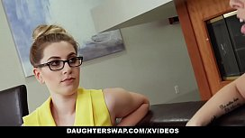 DaughterSwap - Sexy Babes (Niki Snow) (Zoey Monroe) Fuck Dad For Some Cash