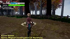 Walkthrough Magical Investigation of Meridiana 1