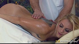Masseur asshole fucked her...