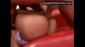 Two hot teens share...