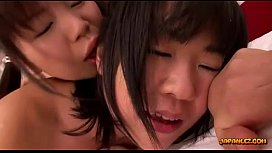 2 Schoolgirls Sucking Nipples Licking Pussies On The Bed In The Classroom