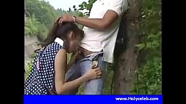 Japanese girl blowjob for...