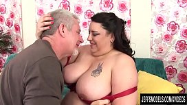 BBW Lacy Bangs fucked...