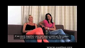 Casting Two girls make...