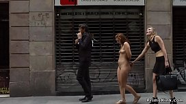 Naked Spanish slave disgraced...