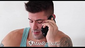 ManRoyale - Innocent massage turns...