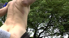 Muscle Boy - Outdoor Workout...