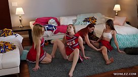 Cheer Squad Members Initiating The Newbie Blonde - Dolly Leigh, Katie Kush