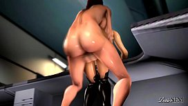 Miranda lifted onto dick and pounded endlessly