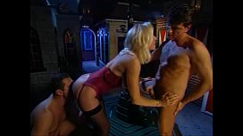 Beautiful Blonde MILF Helen Duval DP-ed in Red Light District backstreet