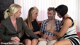 Hot Group Sex with...
