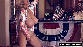 KELLY MADISON Red White...