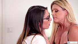 GIRLSWAY - India Summer, Emily Willis and Dava Fox Lesbian Sex preview