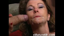 German mature housewife gets...