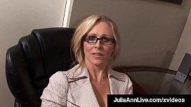 Working Woman Julia Ann...