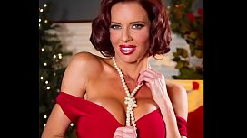 Pornstar Veronica Avluv Sexy Cleavage Tits in Tight Dress